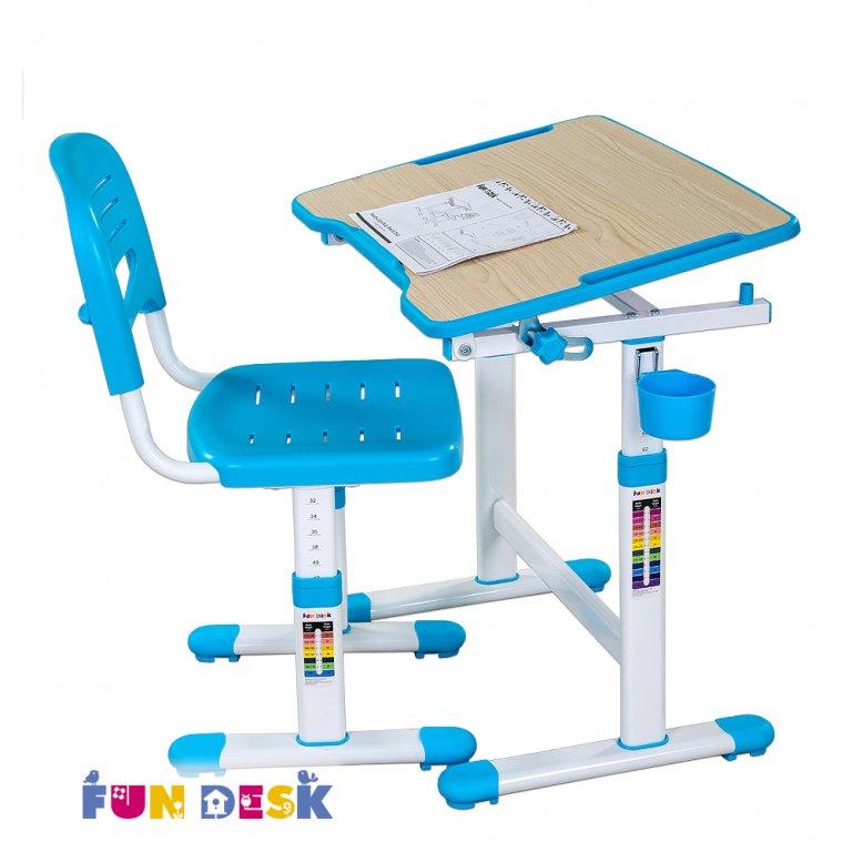 Растущая парта и стул piccolino II выбор цвета