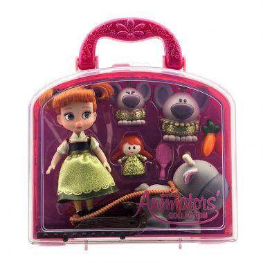 Игровой набор Анна в чемоданчике Аниматорс Дисней