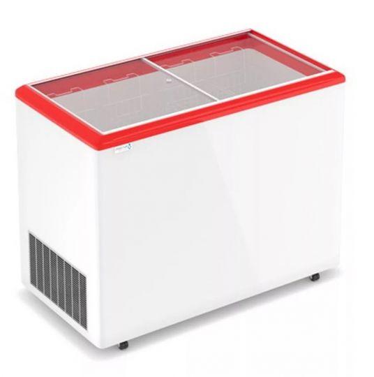 Морозильный ларь с прямым стеклом Optima 350 C
