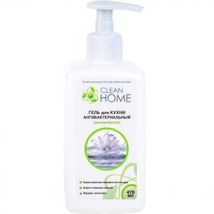 """CLEAN HOME"" Гель для кухни антибактериальный 470мл"