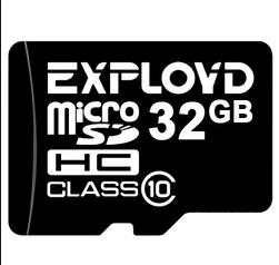Карта памяти EXPLOYD 32 Gb  MicroSDHC Class 10