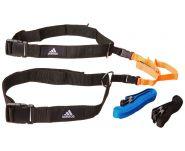 Набор реакционных ремней чёрно-оранжево-синий Adidas ADSP-11513