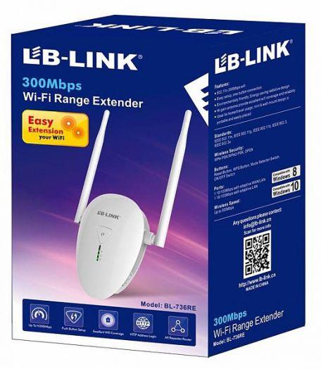 Усилитель WI-FI LB-LINK BL-736RE