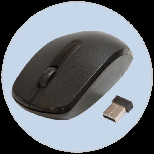 Мышь беспроводная RITMIX RMW-505 BLACK