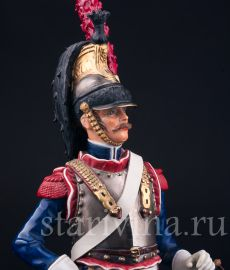 Кирасир 11 полка, 1810 года, Sitzendorf, Германия, сер. 20 в., артикул 03157