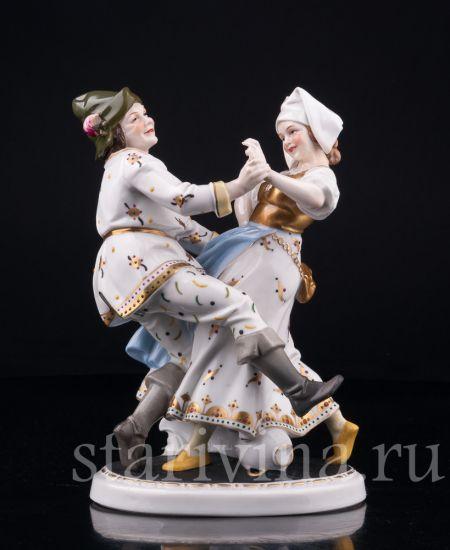 Изображение Деревенские танцы, Hertwig & Co, Katzhutte, Германия, нач.20 в