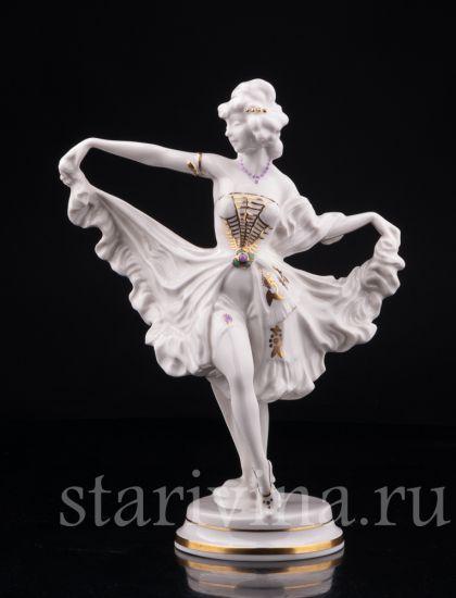 "Изображение Танцовщица ""Мотылек"", Hutschenreuther, Германия, 1928-34 гг"