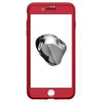Чехол Spigen Thin Fit 360 для iPhone 8/7 Plus (5.5) красный