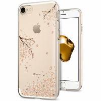 Чехол Spigen Liquid Crystal Shine для iPhone 8/7 (4.7) цветы