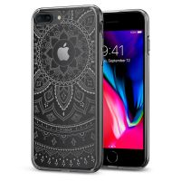 Чехол Spigen Liquid Crystal Shine для iPhone 8/7 Plus (5.5) прозрачный