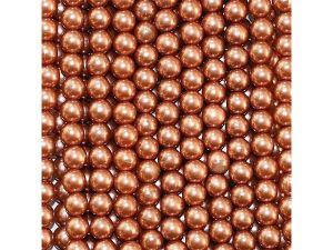Бусины, пластик, 10 мм, цвет 027 (1уп = 50г)