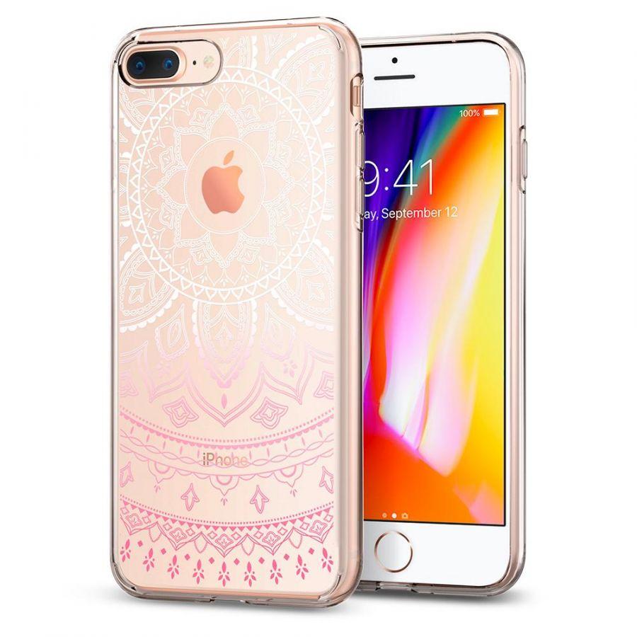 Чехол Spigen Liquid Crystal Shine для iPhone 7 Plus розовый