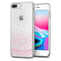 Чехол Spigen Liquid Crystal Shine для iPhone 8/7 Plus (5.5) розовый