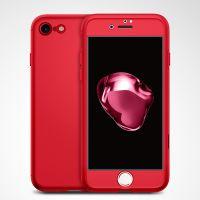Чехол Spigen Thin Fit 360 для iPhone 8/7 (4.7) красный