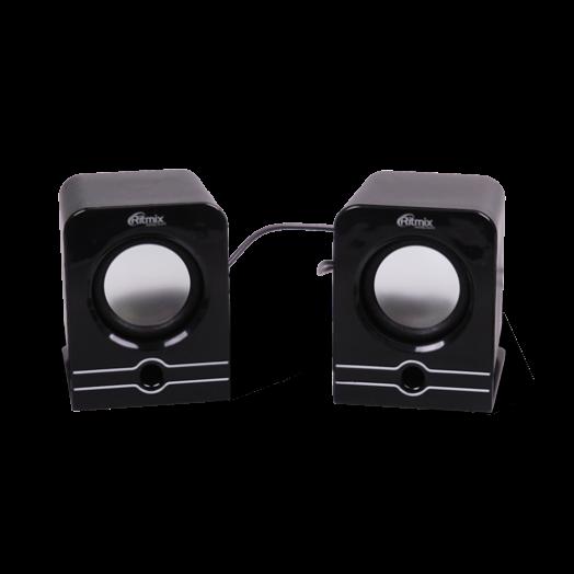 Мультимедийные колонки Ritmix SP-2040 Black