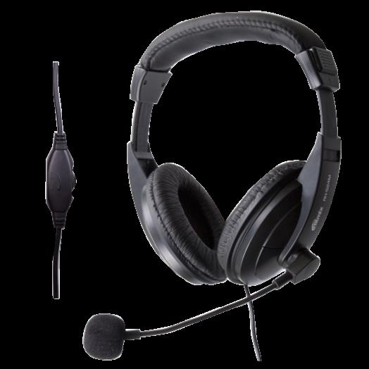 Мониторные наушники с микрофоном RITMIX RH-524M
