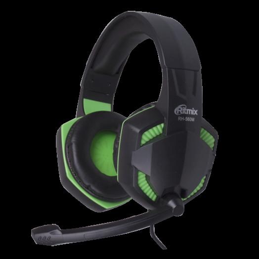 Мониторные наушники с микрофоном RITMIX RH-560M Gaming