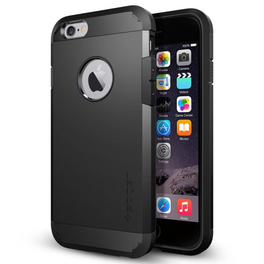 Чехол Spigen Tough Armor для iPhone 6/6S черный