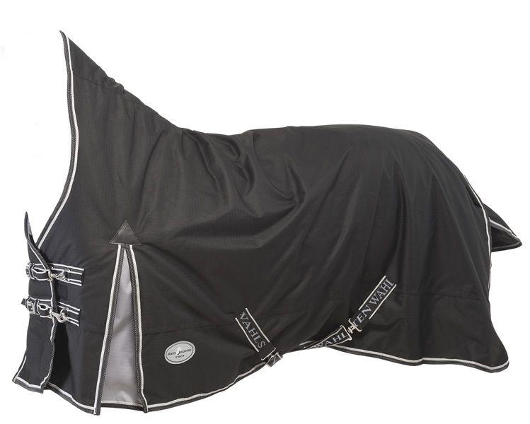 """Непромокаемая попона с высокой шеей """"RAIN BUSTER Trot"""" для рысаков, на утеплителе 150 г/м, ткань 600D"""