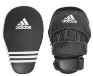 Лапа чёрные Adidas Training Curved Focus Mitts Long ADIBAC02
