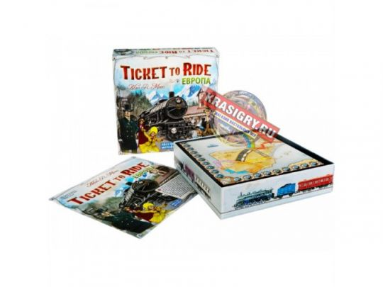 Билет На Поезд Европа / Ticket to ride: Europe