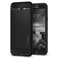 Чехол Spigen Rugget Armor для Samsung Galaxy J7 (2017) черный