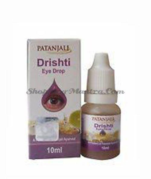 Глазные капли Дришти Патанджали | Divya Patanjali Drishti Eye Drops