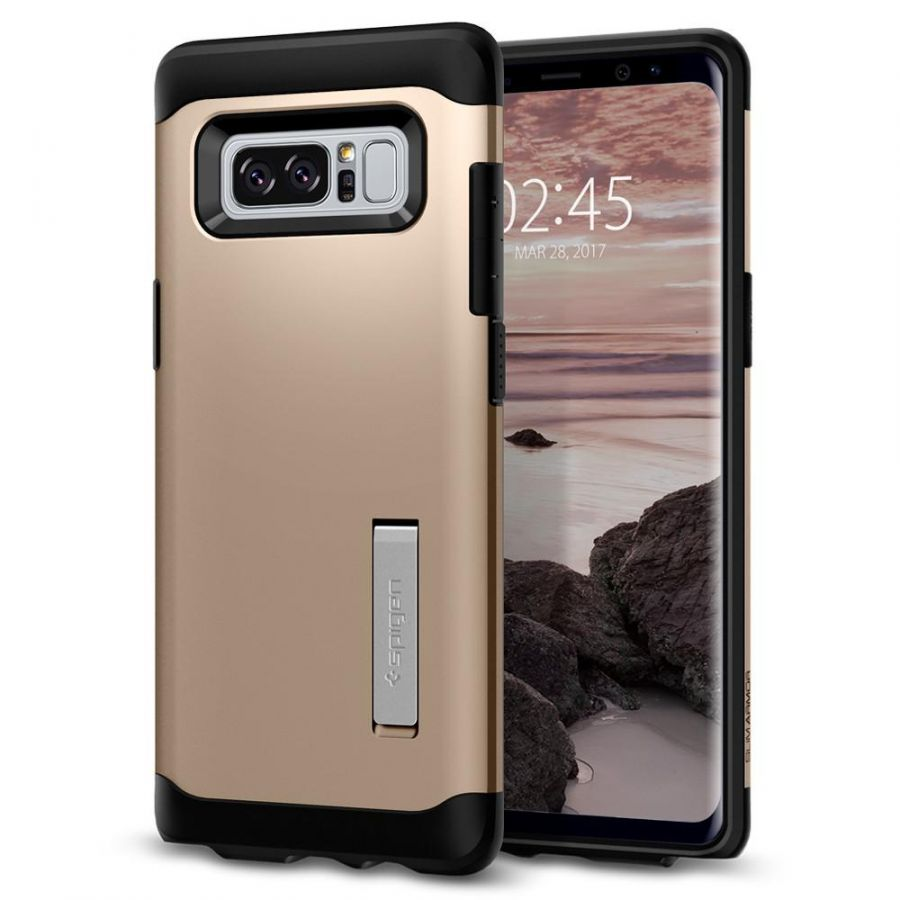 Чехол Spigen Slim Armor для Samsung Galaxy Note 8 золотой