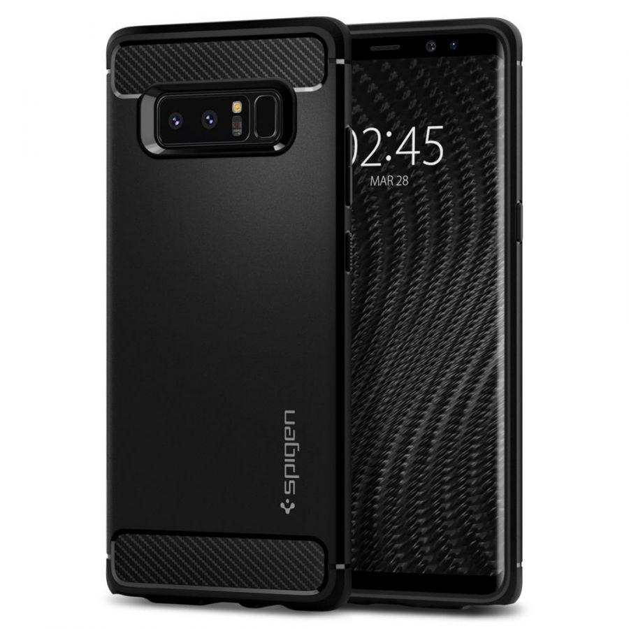 Чехол Spigen Rugged Armor для Samsung Note 8 черный