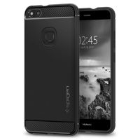 Чехол Spigen Rugged Armor для Huawei P10 lite черный