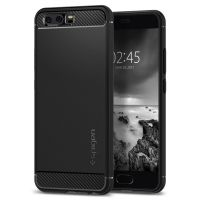 Чехол Spigen Rugged Armor для Huawei P10 черный