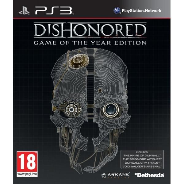 Игра Dishonored Game of the year edition (PS3)