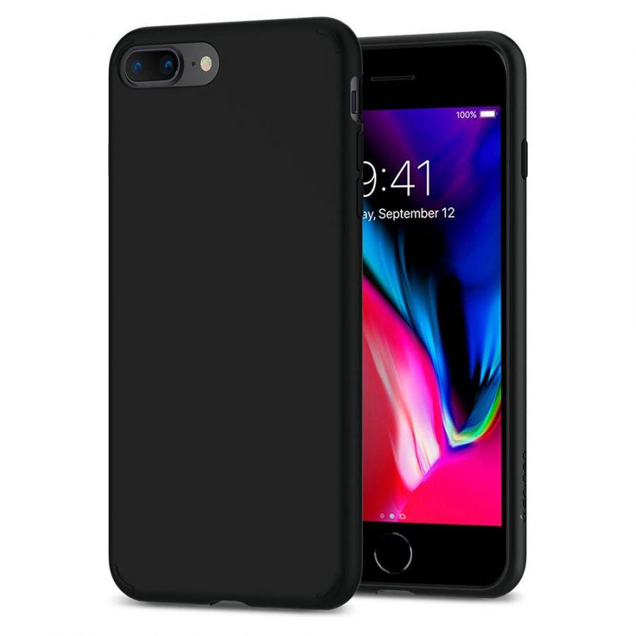 Чехол Spigen Liquid Crystal для iPhone 7 Plus матово-черный