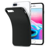 Чехол Spigen Liquid Crystal для iPhone 8/7 Plus (5.5) матово-черный