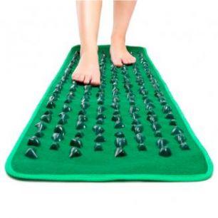 Массажный коврик с камнями FitStudio massage