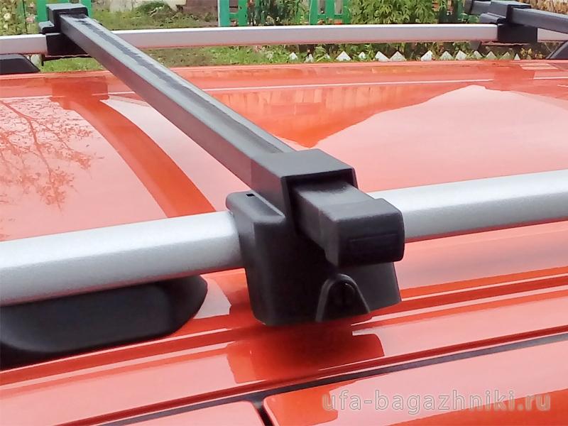 Багажник (поперечины) на рейлинги на Лада Гранта / Лада Калина универсал, Атлант, стальные дуги