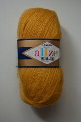 Angora Real 40 (Alize) 82-золотисто-желтый