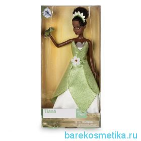 Принцесса кукла Тиана в зеленом платье 2017 года выпуска, из мультфильма Принцесса и лягушка
