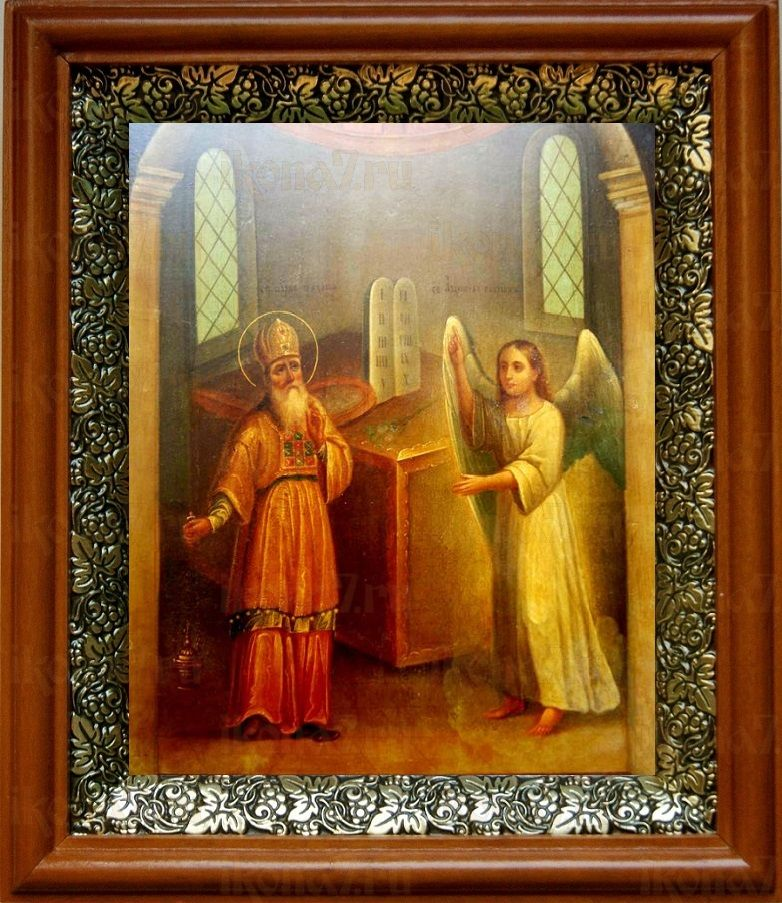 Захария, пророк (19х22), светлый киот