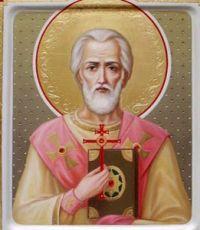 Милий Сузский (Персидский) (рукописная икона)
