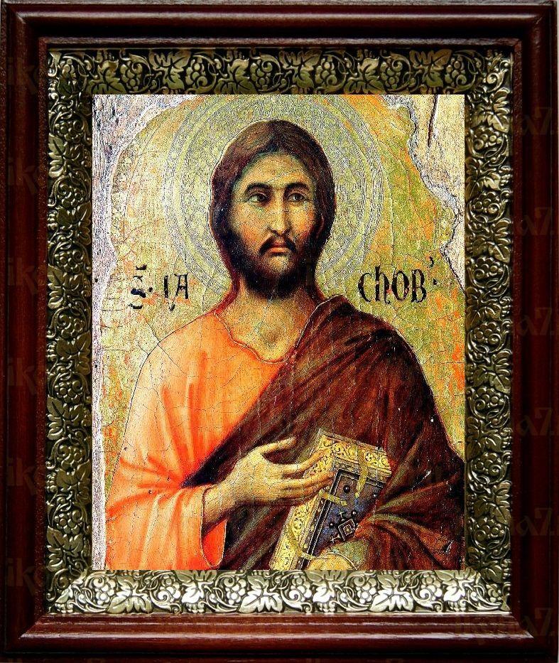 Иаков Алфеев (19х22), темный киот