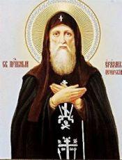 Еразм Печерский  (рукописная икона)