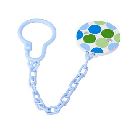 Dr.Brown's Клипса для пустышки со шнурком, синяя (арт. AC037)