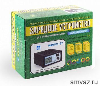 Зарядное устройство Вымпел-27 7 Ампер ЖК индикатор