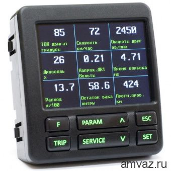Компьютер CL-580 УАЗ партиот, ГАЗель бизнес TFT дисплей Мультитроникс