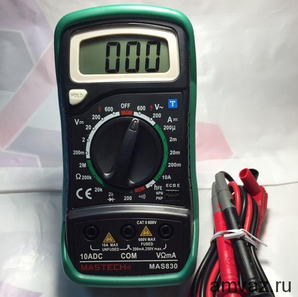 Мультитестер МАS 830 Резин.чехол