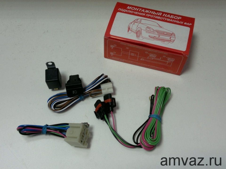 Проводка противотуманных фар 2115 (в коробке)