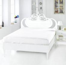 Простыня сатиновая SERVAN 240*260(белый) Арт.220/10-3