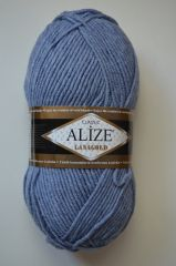 LANAGOLD (ALIZE) 221-голубой джинс