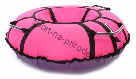Тюбинг Hubster Хайп розовый 120 см